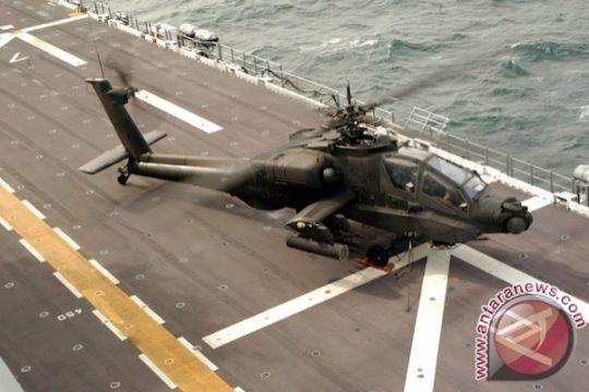 Helikopter Arab Saudi jatuh di perbatasan Yaman
