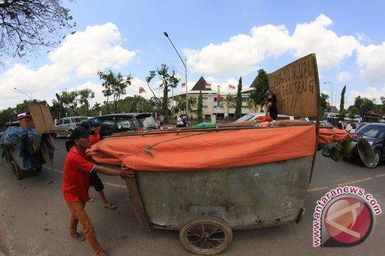 Dinsos Palembang amankan gelandangan pengemis bermodus gerobak