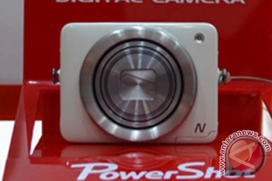 "Canon Powershot N si kecil dengan ""shutter"" unik"