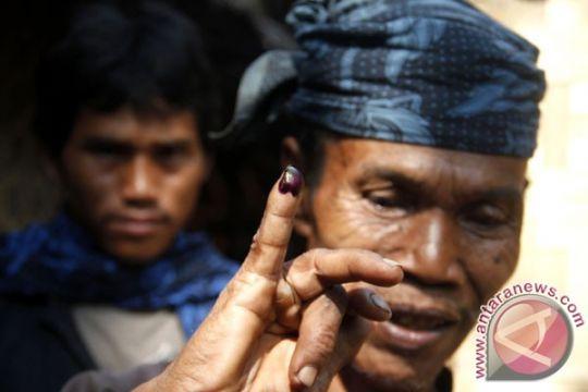Warga Baduy berbondong-bondong gunakan hak pilih