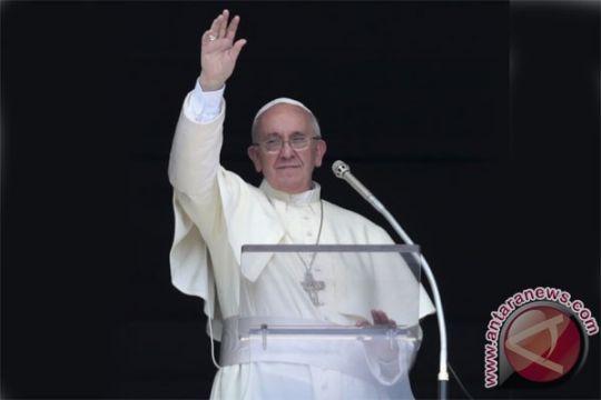 Paus serukan larangan senjata nuklir di dunia