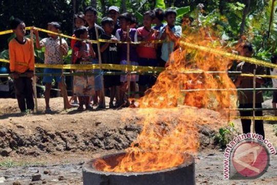KAI: Semburan gas di Kebumen telah berhenti