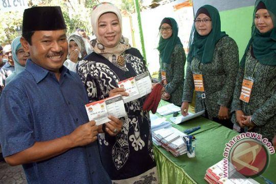 Rachmat Yasin-Nurhayanti menangi Pilkada Kabupaten Bogor