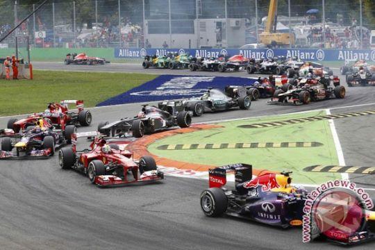 Tim F1 latihan dengan Pirelli di Bahrain