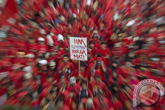 Frekuensi demo buruh tolok ukur keberhasilan pemerintah