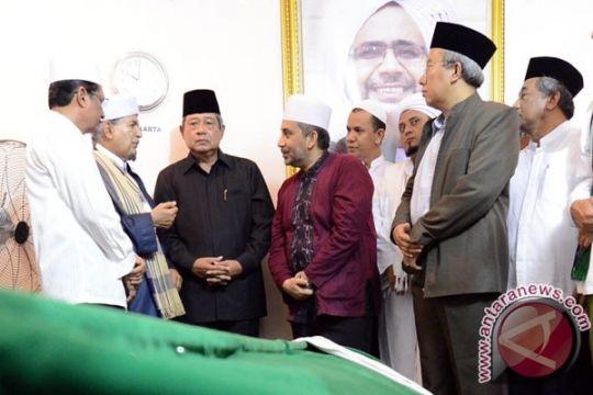 Presiden melayat ke rumah duka pendiri Majelis Rasulullah