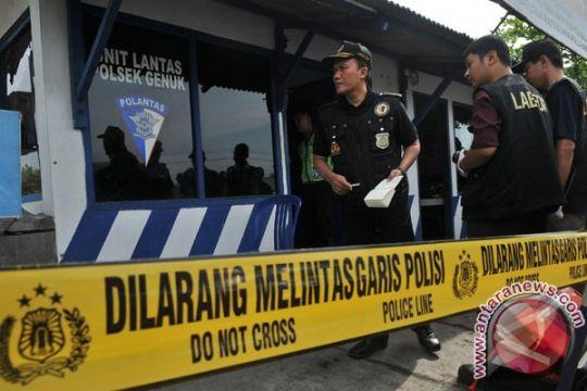 Polisi periksa saksi ledakan di Semarang