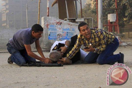 Satu polisi, tujuh tersangka milisi tewas dalam baku tembak di Kairo