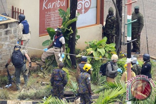 10 polisi Kenya tewas terkena bom di perbatasan Somalia