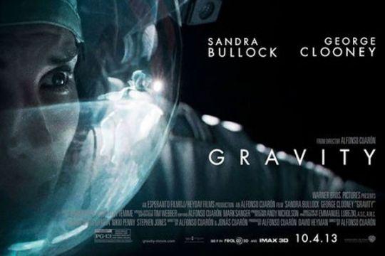 "Gravity ; ""masterpiece  thriller"" luar angkasa"