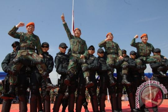 Kasal kini warga kehormatan Korpaskhas TNI AU