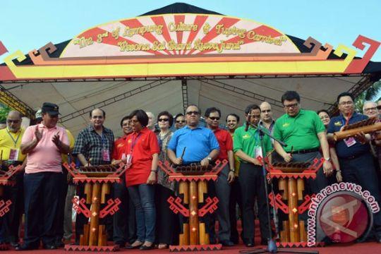 Para dubes terkesan Festival Krakatau Lampung