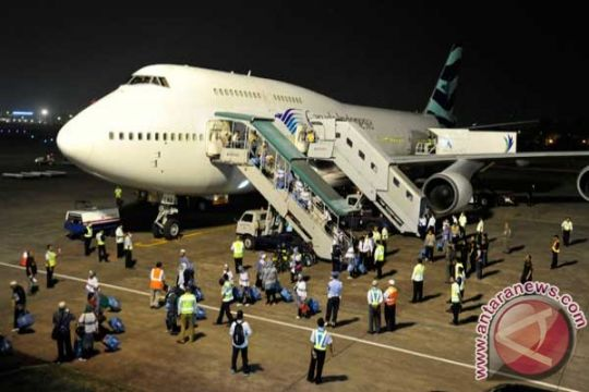 Kloter 7 Surabaya tinggalkan Makkah tanpa Ngajiran
