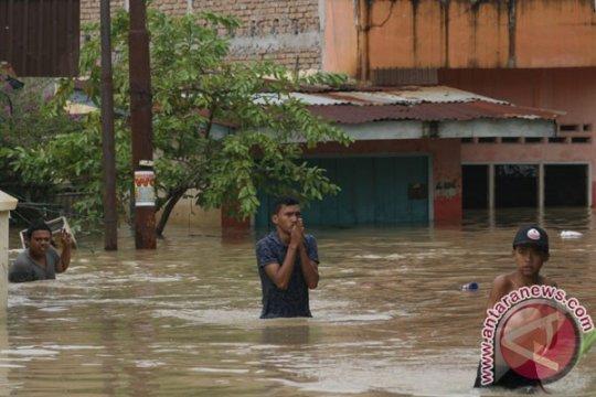 Ratusan rumah di Tapsel Sumut terendam banjir