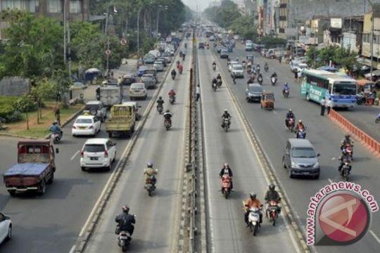 Polisi tilang 268 kendaraan di jalur bus Transjakarta