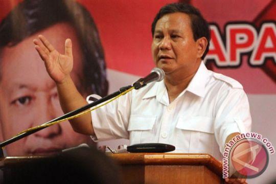Prabowo ajak rakyat lawan upaya pelemahan KPK