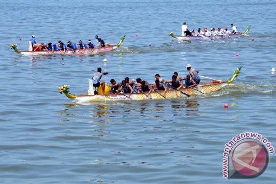 Dragon boat Indonesia bersaing dengan Myanmar, Thailand, Filipina