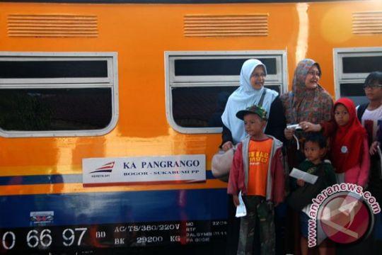 Jalur Kereta Pangrango Bogor-Sukabumi terdampak longsor di Maseng