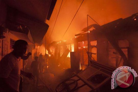 Seratusan rumah warga di Nunukan hangus terbakar