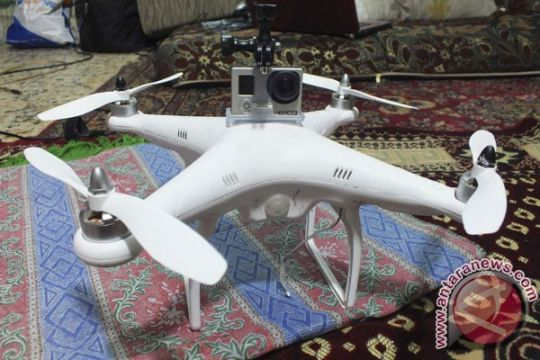 Drone itu ternyata pesawat remote control