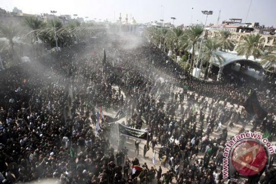 Ratusan ribu Syiah tumplek di Karbala peringati Hari Asyura
