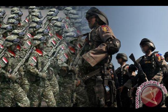 Bentrok anggota TNI dan polisi, enam luka
