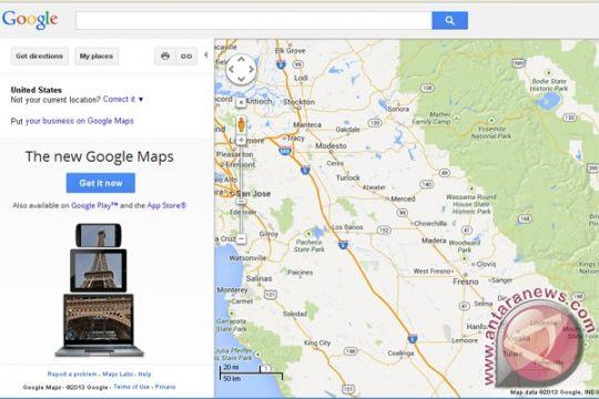 Pembaruan Google Maps mungkinkan navigasi secara offline