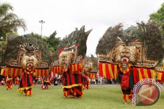 Ponorogo gelar festival reog pelajar