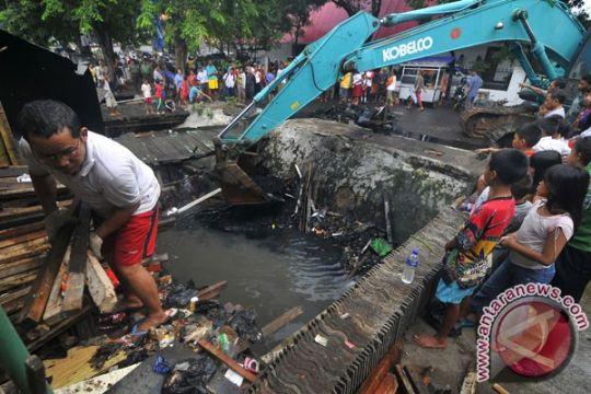 Jakbar kuras 350 saluran air dan dua waduk