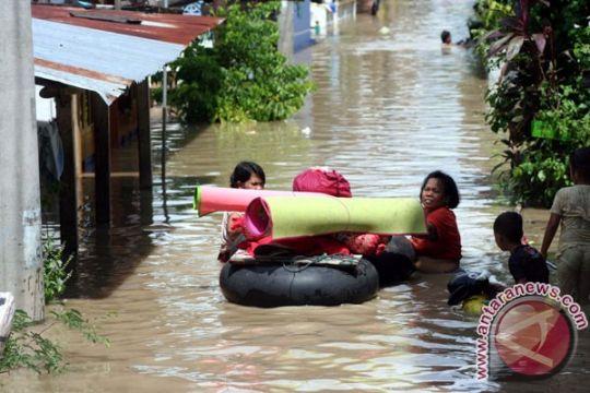 855 rumah di Cilacap terendam banjir