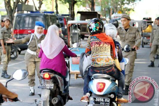 Polisi kawal tegaknya syariat Islam di Aceh Barat
