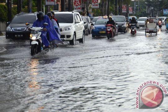 Kota Singkawang tergenang banjir