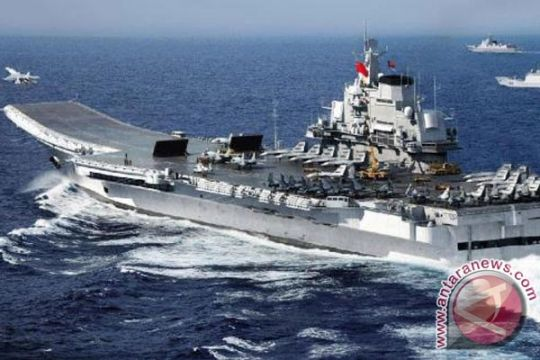 Tiongkok bangun kapal induk kedua