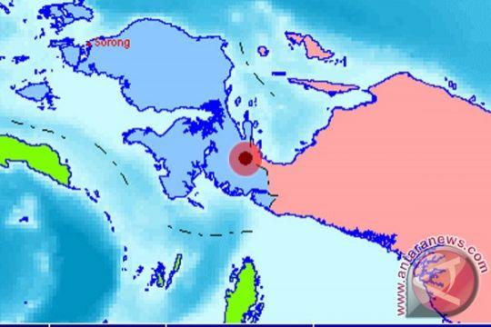 Gempa 5,5 SR melanda tenggara Kaimana, Papua Barat