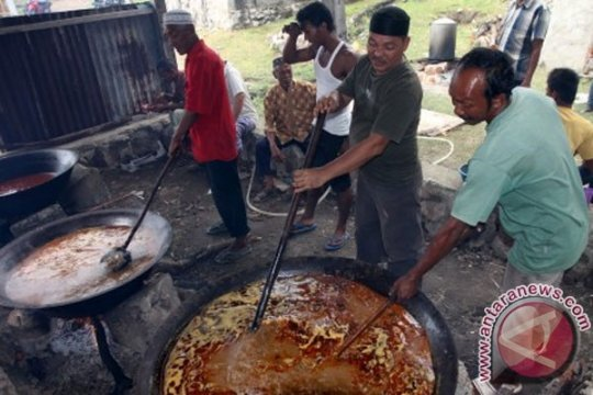 "Ragam kuliner perayaan kenduri ""Maulod"" di Aceh"