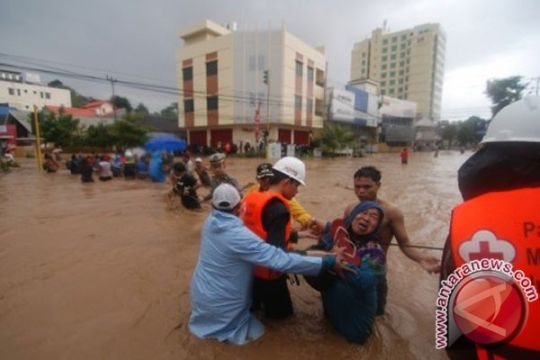 Kantor DPRD Sulut dan DPRD Kota Manado terendam banjir