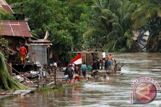 4 orang meninggal akibat bencana banjir Manado