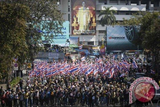 Kekerasan politik tewaskan 9 orang, lukai 554 di Thailand