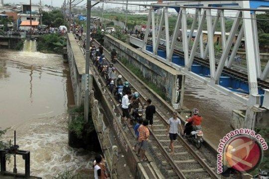 Ada delapan titik di Jakbar rawan banjir