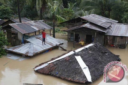 Ribuan rumah terendam di Sembakung Nunukan