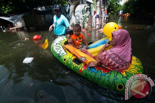 Prabowo bantu korban banjir di Bekasi