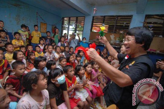 Pemulihan trauma anak-anak pengungsi dilakukan Dinkes Lampung