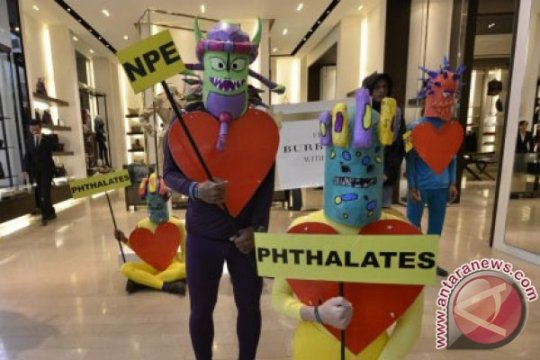 Greenpeace kecam fashion beracun