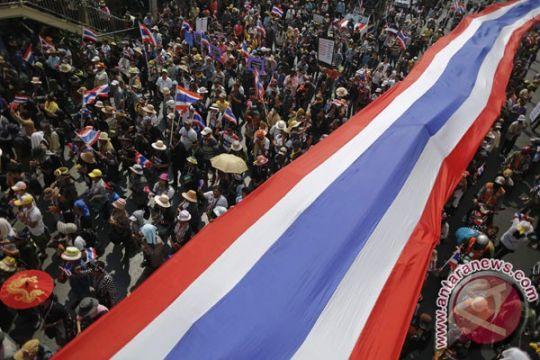 Thailand ajukan surat penangkapan 16 pemimpin protes