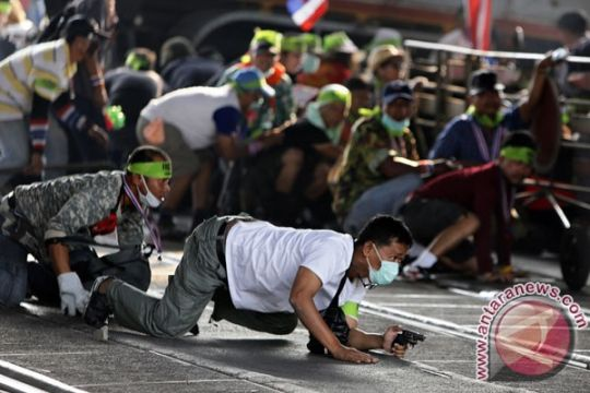 Demonstran Thailand bersumpah teruskan unjuk rasa