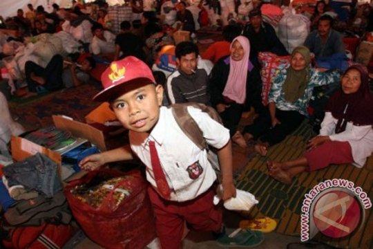 Rp5,9 miliar disiapkan untuk keseharian pengungsi Sinabung