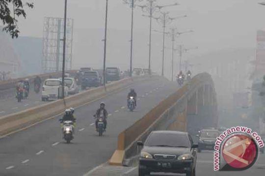 Riau siaga bencana kabut asap
