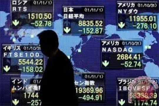 Bursa saham Singapura ditutup menguat 0,24 persen
