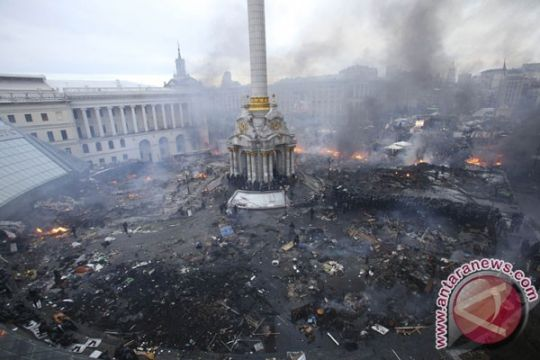 Parlemen Ukraina gulingkan Presiden Yanukovich