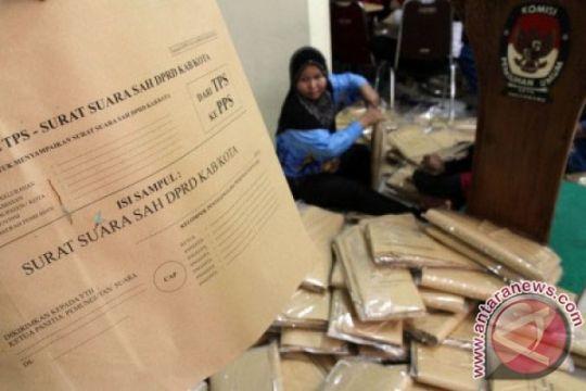 Dua kelurahan di Bengkulu hitung ulang surat suara